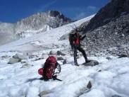Der Gletscher unter dem Hochflachkofel