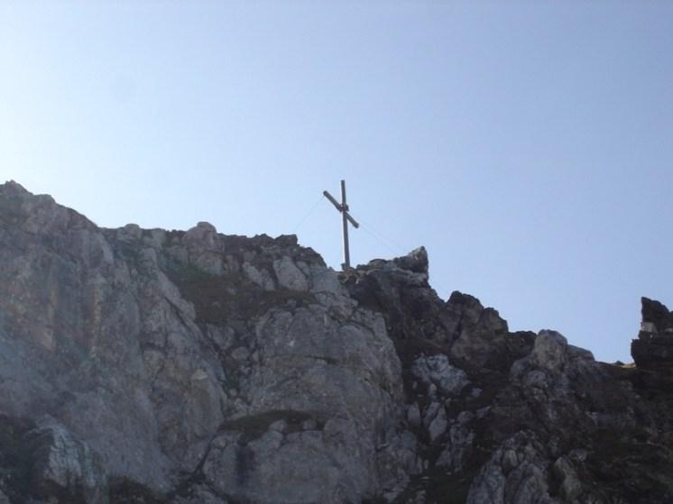Abstieg von der Hohen Kreuzspitze