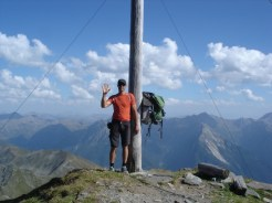 Gipfelkreuz Hohe Kreuzspitze