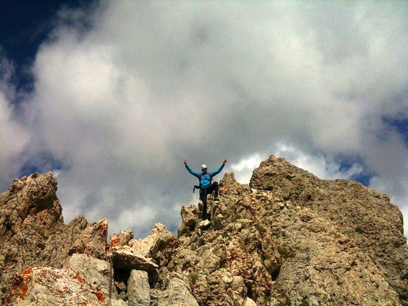 Odla de Cisles (2780m) Südostkante