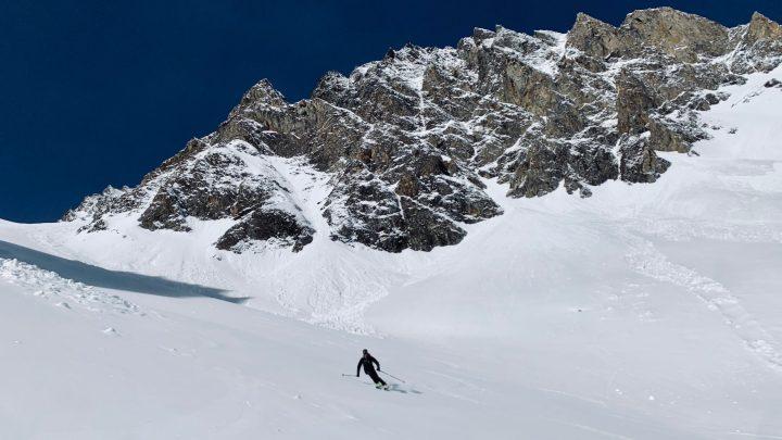 Skitour Wurmaulspitze von Dun