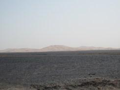 Sanddünen in Sicht