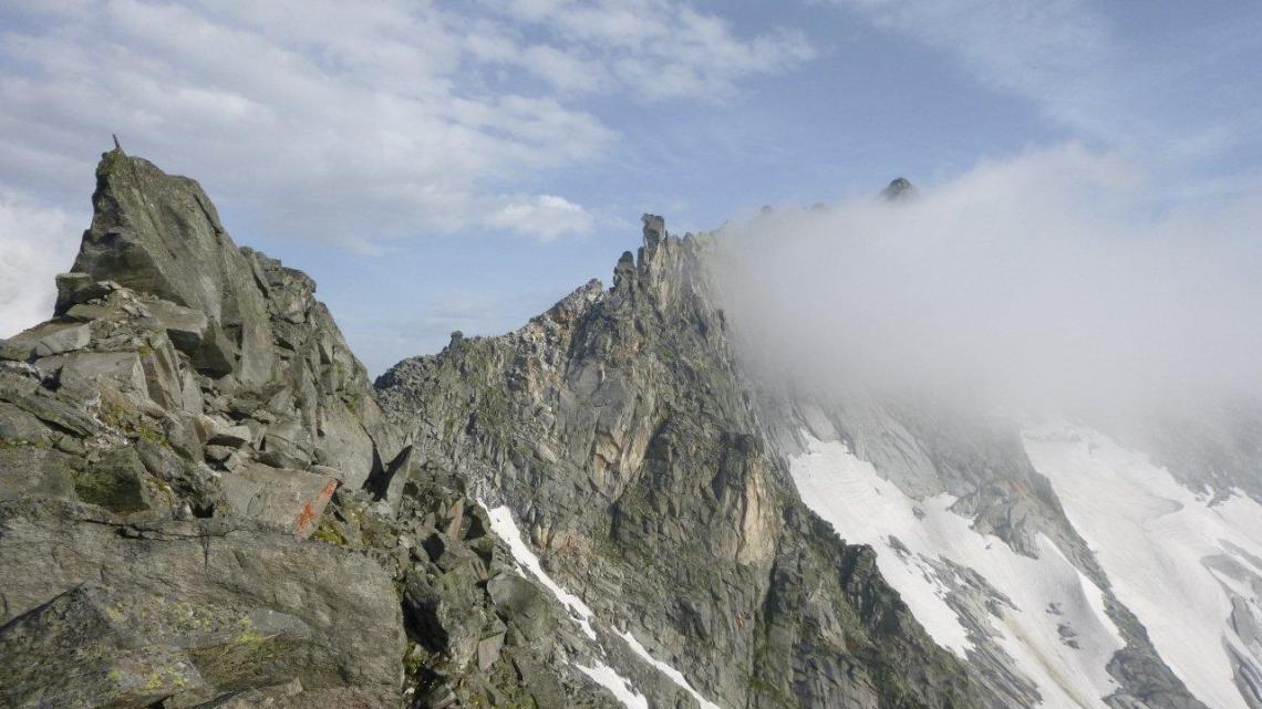 Keilbachspitz (3093mt) – Südgrat