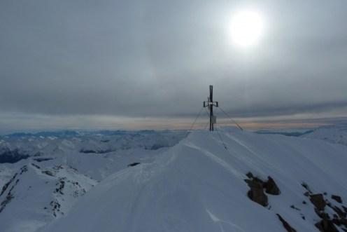 Für mich der schönste Moment beim Bergsteigen... kurz vor dem Gipfel