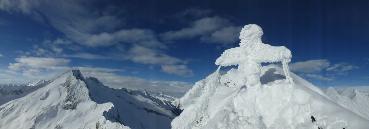 V Hornspitze Panorama