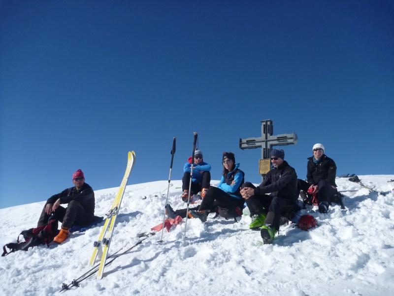 Oberbachernspitze auf Umwegen