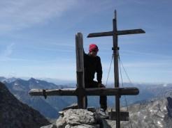 Zwei Gipfelkreuze