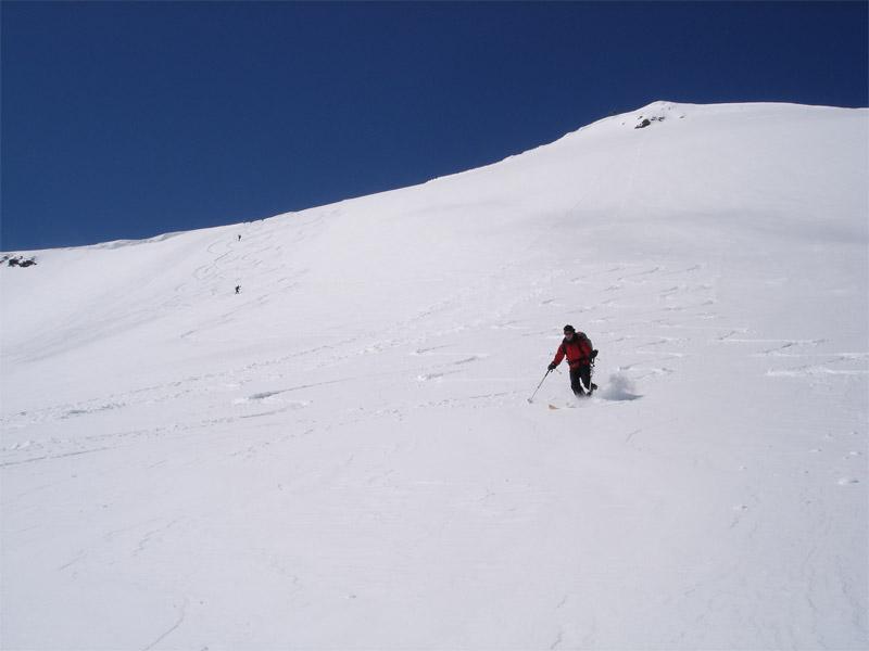Langtalereck Hütte (2430m) Schalfkogel (3540m) Hinterer Seelenkogel (3472m)