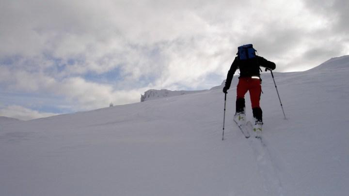Rittnerhorn, 9er Steig, Barbianer Alm
