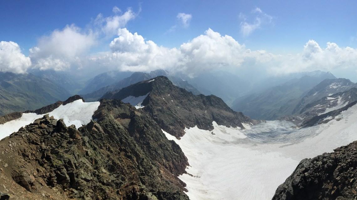 Feuersteine 3267m und Schneespitze 3166m