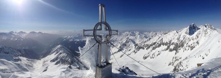 Panorma I Hornspitze