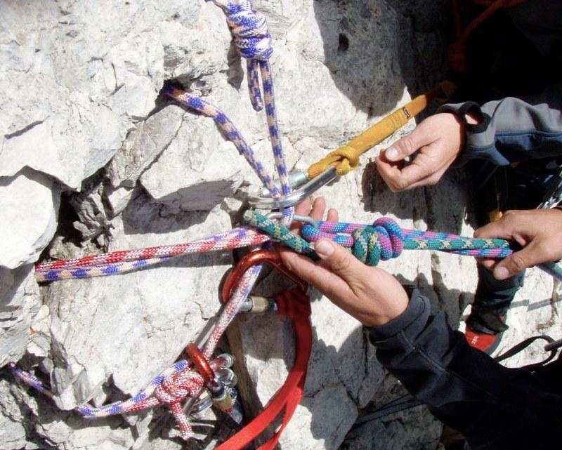 Klettertour Daumenkante (2992m)