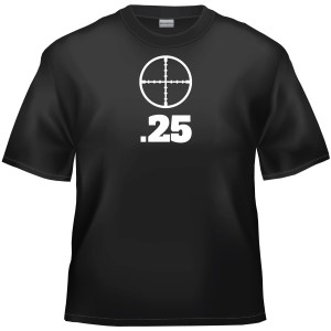 .25 Air Rifle t-shirt
