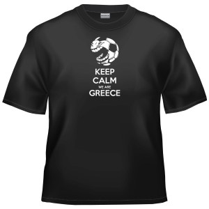 2014 World Cup Football - Keep Calm We Are Greece t-shirt