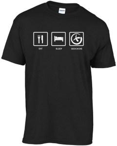 eat-sleep-geocache t-shirt