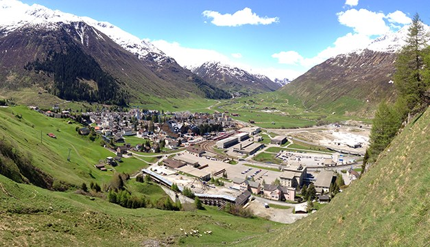 Ausbau Bahnhohf Andermatt: Matterhorn-Gotthard-Bahn hat Grosses vor