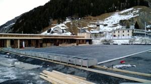 Eisplatz im Bau