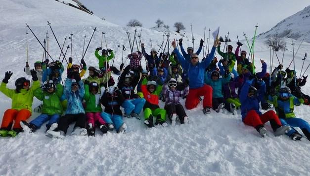 Erster Skitag der Fun JO (Jugend Organisation) des Skiclub Gotthard Andermatt