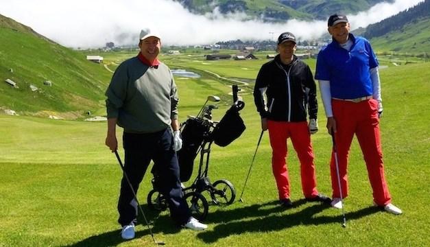Golf – Sedrun meets Andermatt