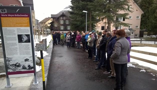 Einweihung der vier vollendeten Werke in Andermatt