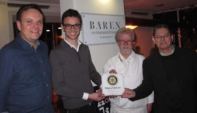 Rotary Club Uri mit Treffpunkt in Andermatt