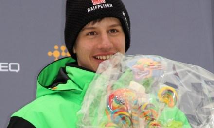 Simon Ehrbar läuft an der Biathlon-Schweizermeisterschaft auf den Dritten Platz