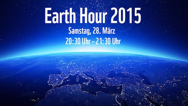 EARTH HOUR – Heute Lichterlöschen für die Umwelt