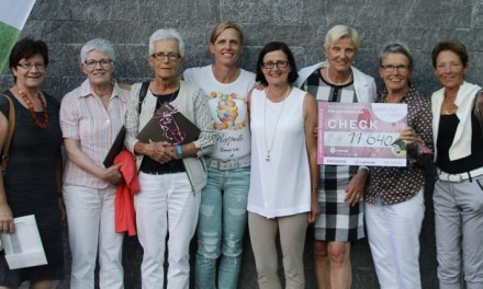 "Charity-Aktion ""Ladies for Ladies"" auf dem Golfplatz Andermatt"