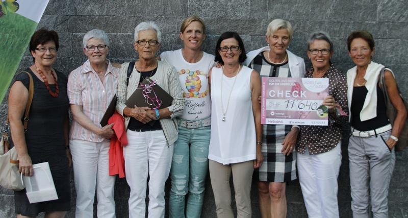 "Charity-Aktion ""Ladies for Ladies"" auf dem Golfplatz Andermatt"
