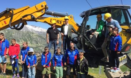 SkiArena Andermatt-Sedrun: Spatenstich für erste Sesselbahn erfolgt