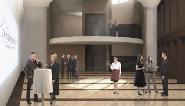 Neuer Kongresssaal in Andermatt