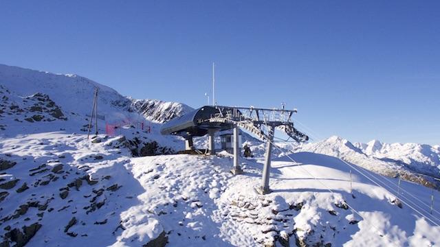 Die SkiArena Andermatt-Sedrun startet in die Wintersaison am Gurschen (Gemsstock)