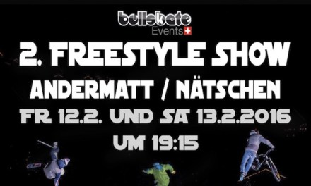 2. Freestyle Show in Andermatt