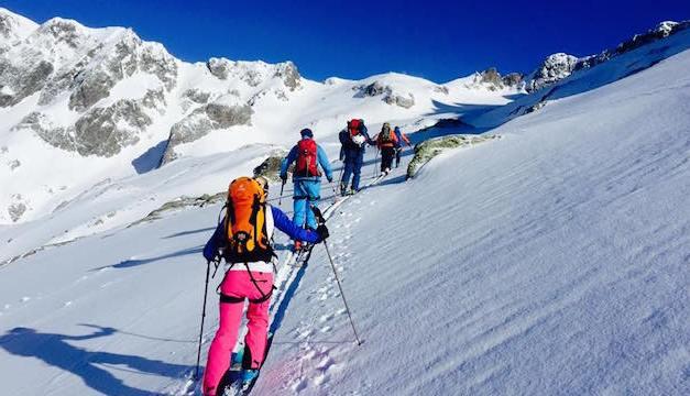Von Hütte zu Hütte: Zwei Tourismusdirektoren gemeinsam auf Skitour