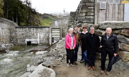 Abschluss der Hochwasserschutzarbeiten im Dorf Andermatt