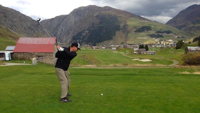 golfer andermatt