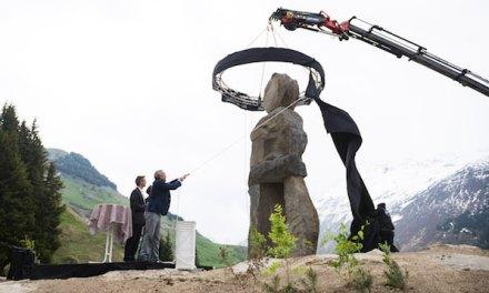 Andermatt erhält ein neues Eingangstor von Ugo Rondinone