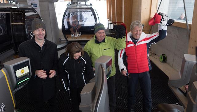 Herzstück der neuen SkiArena Andermatt-Sedrun eingeweiht – Mit dem «Gütsch-Express» ins Skigebiet Gütsch-Schneehüenerstock