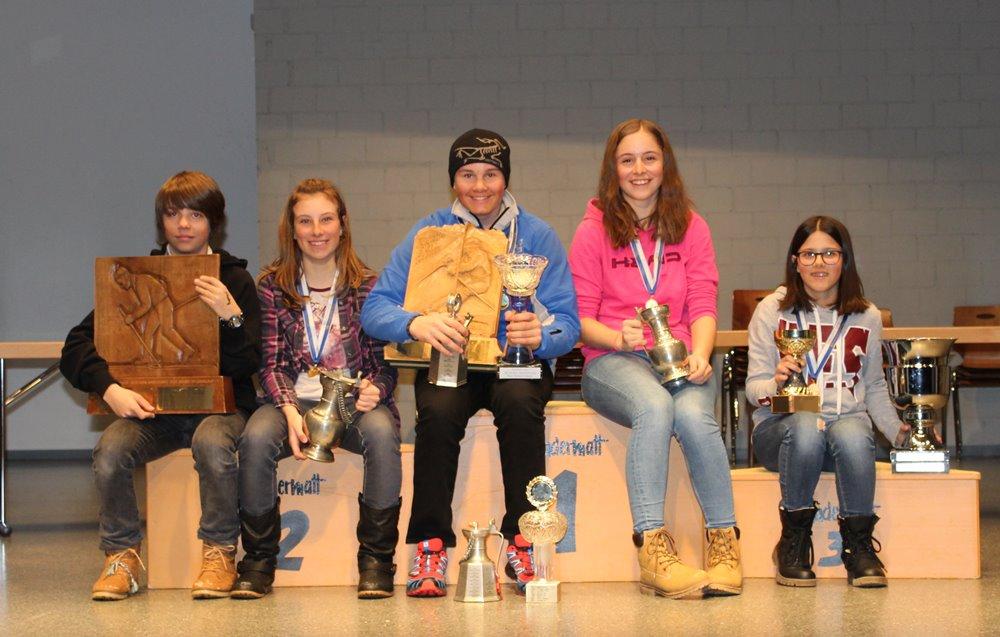Traditionelles Jugendskirennen in Andermatt