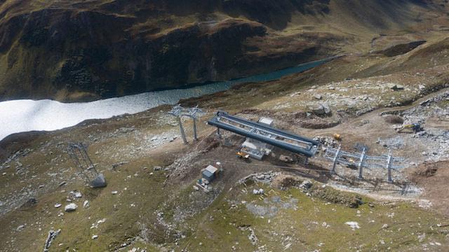 Verbindung SkiArena Andermatt-Sedrun kurz vor Vollendung