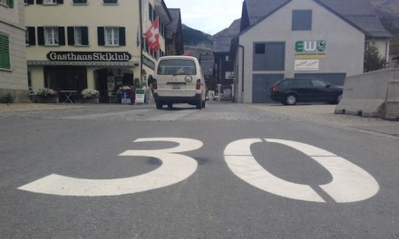 Tempo 30km/h in Andermatt