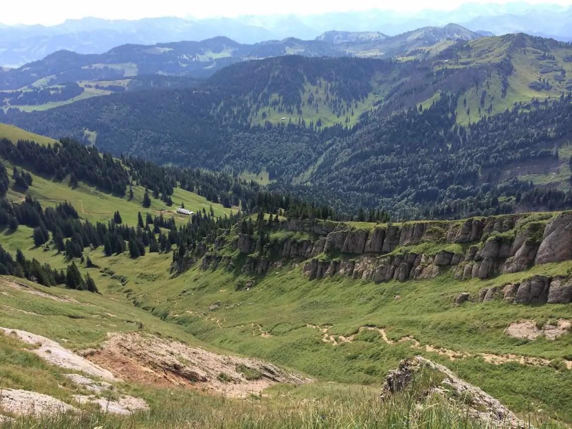 Abstieg vom Rindalphorn