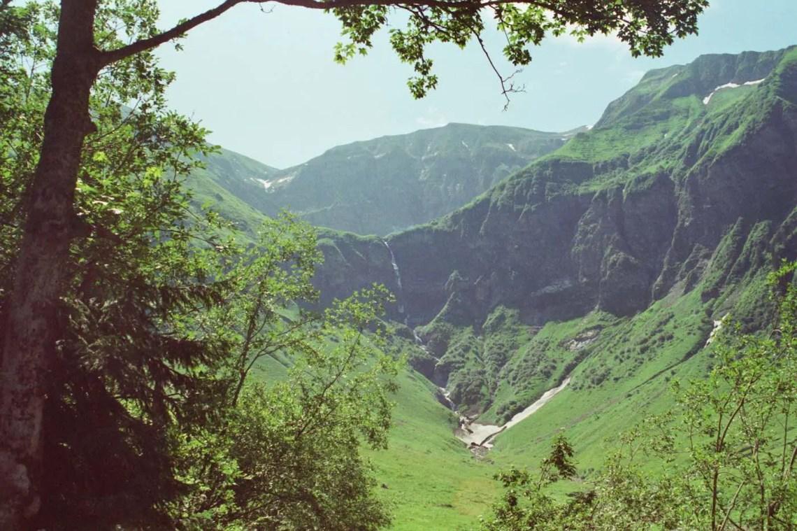 Auf dem Weg zur Dietersbachalpe