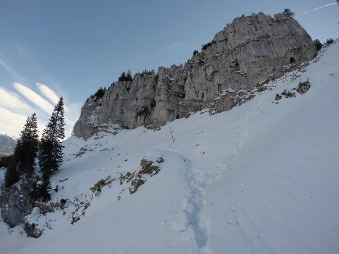 Winteraufstieg zum Besler