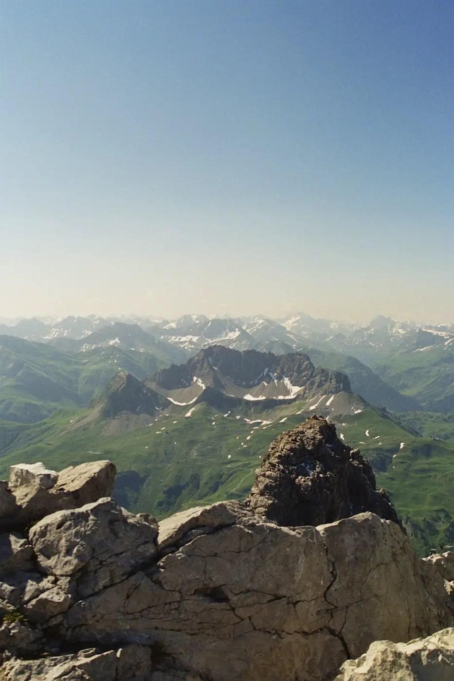 Panorama am Widderstein