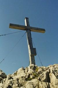 Gipfelkreuz des Widderstein