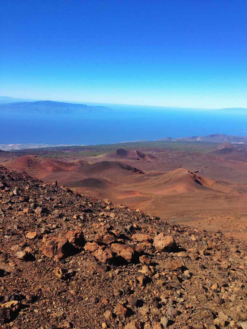 Blick vom Kraterrand