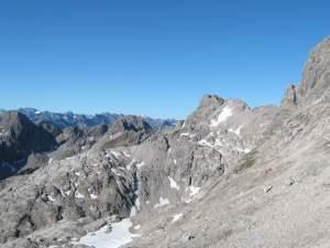 Höhenweg - Blick zum Bockkarkopf