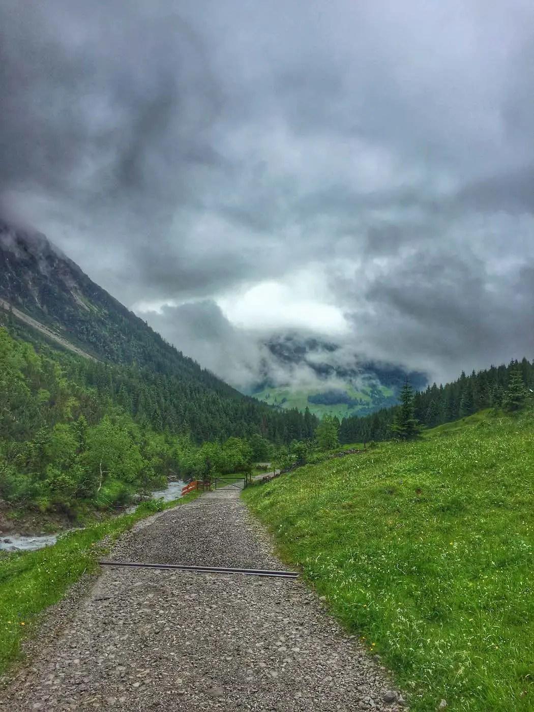 Alpweg im Wildental