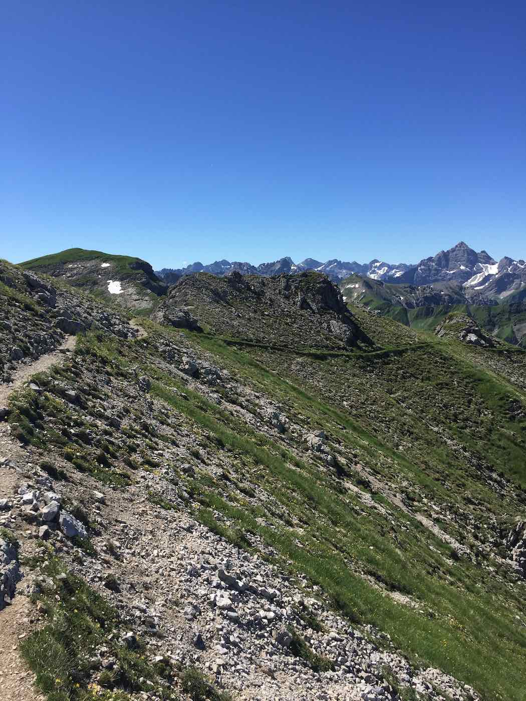 Abstieg in Richtung Schrecksee
